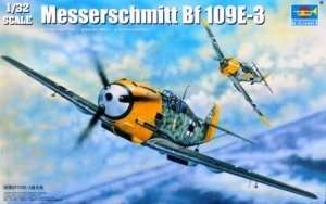 Model German fighter Messerschmitt Bf109E-3 1:32