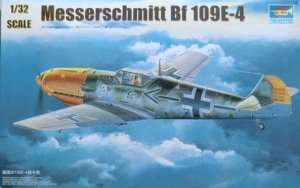 German fighter Messerschmitt Bf109E-4 1:32