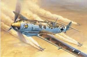 German WWII fighter Messerschmitt Bf 109E-4/Trop