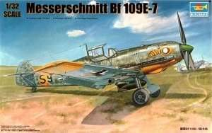 German fighter Messerschmitt Bf 109E-7 1:32