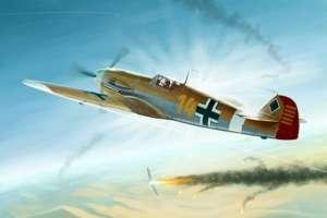 Messerschmitt Bf109E-4/Trop model Trumpeter 02293 scale 1-32