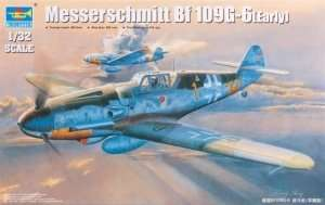 German WWII fighter Messerschmitt Bf109G-6(Early) 1:32