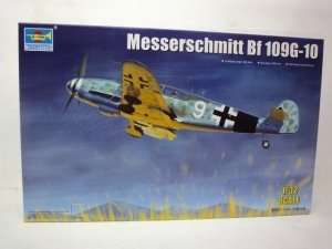 German WWII fighter Messerschmitt Bf109G-10 1:32