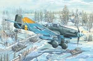 Junkers Ju-87G-2 Stuka model Trumpeter in 1-24