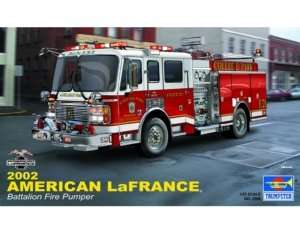 Trumpeter 02506 American Lawrence Eagle Fire Pumper