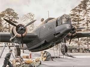 Model bomber Wellington MK.Ic in scale 1:48