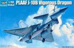 Chinese PLAAF J-10B Vigorous Dragon 1:48