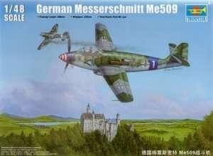 German WWII fighter Messerschmitt Me509 1:48