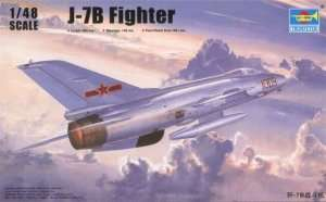 Model J-7B Fighter in scale 1:48