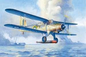 Fairey Albacore Torpedo Bomber in scale 1-48