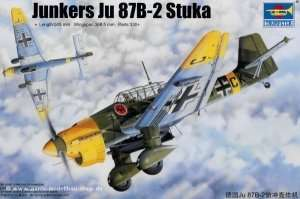 Model German WWII Junkers Ju 87B-2 Stuka 1:32