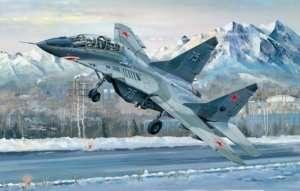 MiG-29UB Fulcrum model in scale 1-32 Trumpeter