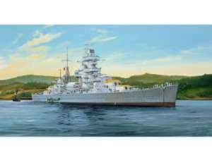 German Cruiser Admiral Hipper 1941 in scale 1-350