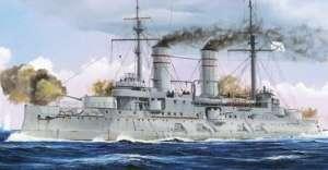Russian Navy Tsesarevich Battleship 1917 model Trumpeter in 1-350