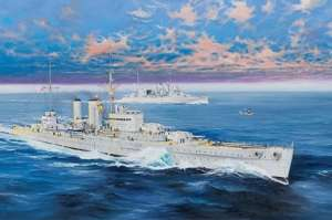 HMS Exeter model Trumpeter 05350 scale 1-350