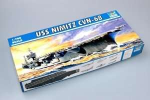 USS Nimitz CVN-68 1975 in scale 1-700