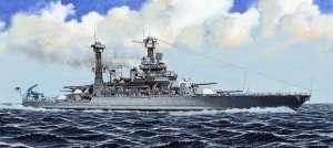 Trumpeter 05783 USS pancernik California BB-44 1941