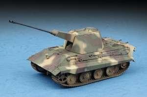 German E-75 Flakpanzer model Trumpeter in 1-72