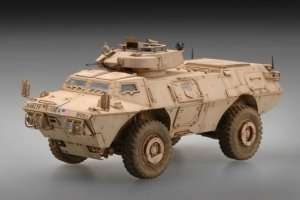 M1117 Guardian Armored Security Vehicle in scale 1-72