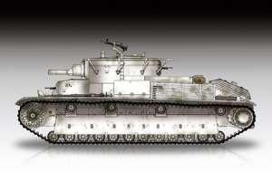 Soviet T-28 Medium Tank Riveted in scale 1-72