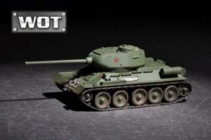 Tank T-34/85 model Trumpeter 07167 scale 1-72