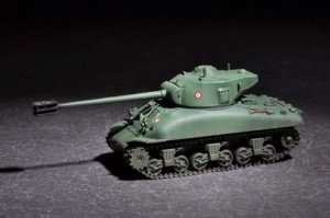 French M4 in scale 1-72 Trumpeter 07169