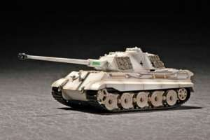 King Tiger Porsche Turret w/Zimmerit in scale 1-72