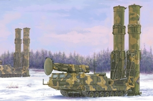 Russian S-300V 9A82 SAM model Trumpeter in 1-35