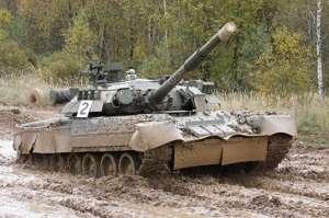Russian T-80U MBT model Trumpeter 09525 scale 1-35