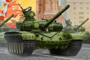 Russian T-72A Mod 1983 MBT - model in scale 1-35