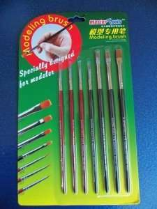 Modeling brush set (7pcs) Trumpeter 09900