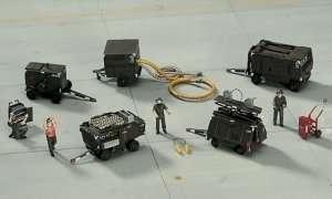 U.S. Aerospace Ground Equipment Set - Hasegawa 35006 X72-6