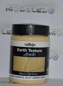 Vallejo 26217 Earth Texture - Desert Sand 200 ml