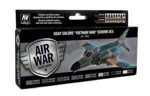 USAF Colors Vietnam War Scheme SEA Vallejo Acrylic airbrush colors