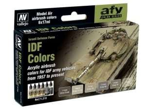 AFV Color Series - Israeli Defense Force 6x17ml