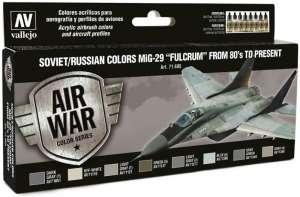 Set - Soviet/Russian colors MiG-29 Fulcrum