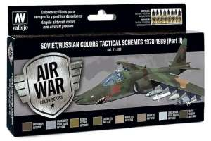 Set - Soviet/Russian colors tactical schemes 1978-89 part II