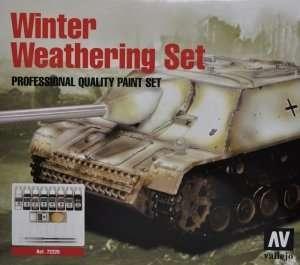 Vallejo 72220 Zestaw 7 farb + dodatki - Winter Weathering