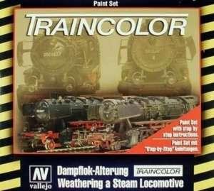 Traincolor - Weathering a Steam Locomotive - Vallejo 73099