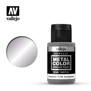 Duraluminium 32ml Acrylic paint Metal Color Vallejo 77702