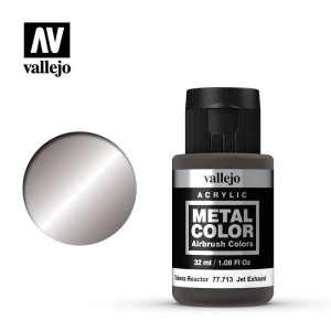 Jet Exhaust 32ml Acrylic paint Metal Color Vallejo 77713