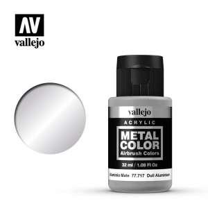 Dull Aluminium 32ml Acrylic paint Metal Color Vallejo 77717