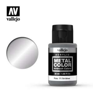 Silver 32ml Acrylic paint Metal Color Vallejo 77724
