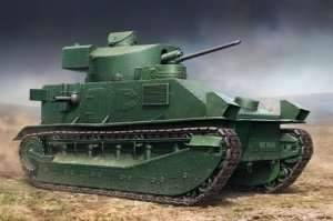 Vickers Medium Tank Mk II in scale 1-35