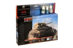 Italeri 74002 WOT Sherman Model Set