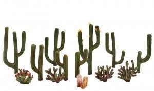 Woodland TR3598 Kaktusy - 13 szt