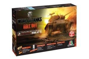 World of Tanks Italeri WOT tank M24 Chaffee