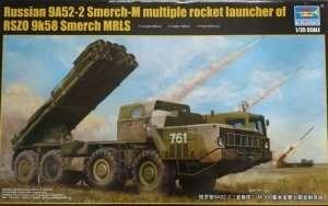 Soviet BM-30 Smerch Rocket Launcher Trumpeter 01020