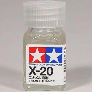 X-20 rozcieńczalnik do emalii 10 ml Tamiya 80020