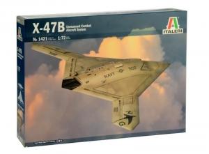U.S. Navy Ucas X-47B model Italeri 1421 in 1-72